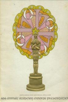 Cartel de de los Oscars 1968