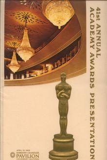 Cartel de de los Oscars 1969