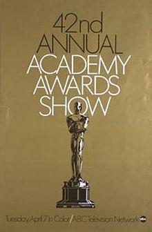 Cartel de de los Oscars 1970