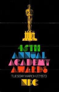 Cartel de de los Oscars 1973