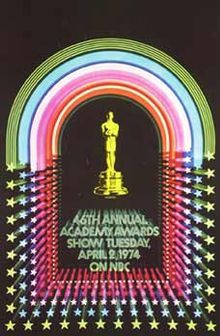 Cartel de de los Oscars 1974