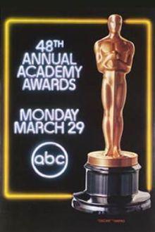 Cartel de de los Oscars 1976