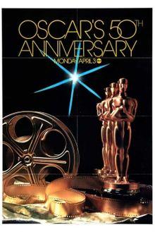 Cartel de de los Oscars 1978