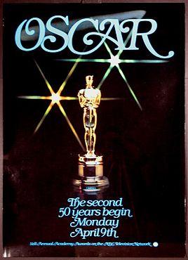 Cartel de de los Oscars 1979