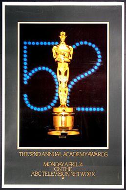 Cartel de de los Oscars 1980