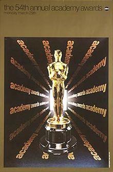 Cartel de de los Oscars 1982