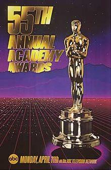 Cartel de de los Oscars 1983