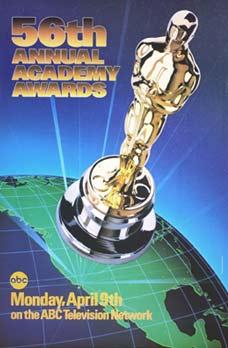 Cartel de de los Oscars 1984
