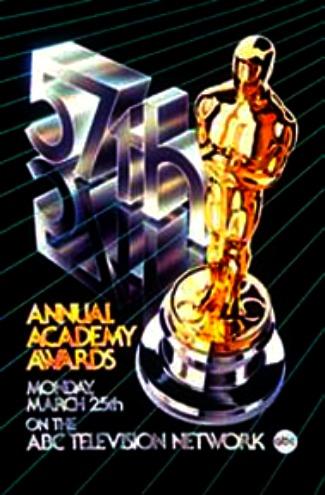 Cartel de de los Oscars 1985