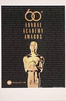 Cartel de de los Oscars 1988