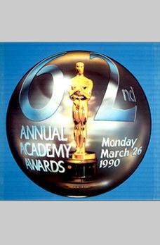 Cartel de de los Oscars 1990