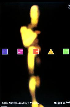 Cartel de de los Oscars 1991