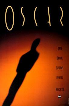 Cartel de de los Oscars 1992