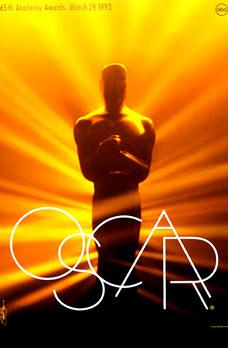 Cartel de de los Oscars 1993