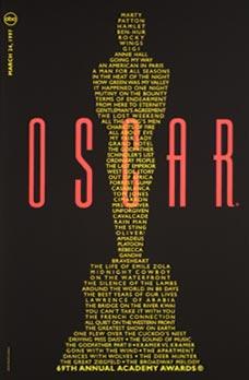 Cartel de de los Oscars 1997