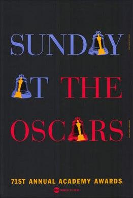 Cartel de de los Oscars 1999