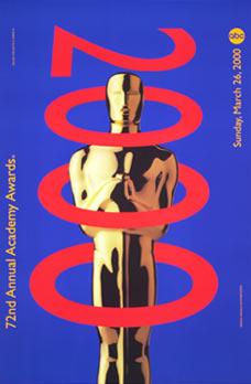 Cartel de de los Oscars 2000