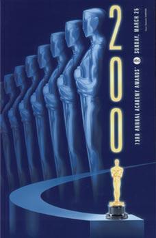 Cartel de de los Oscars 2001