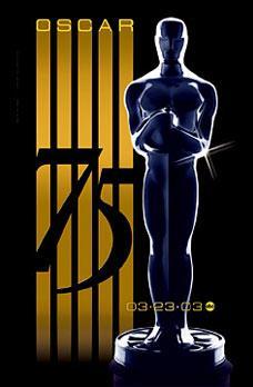 Cartel de de los Oscars 2003