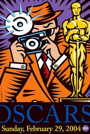 Cartel de de los Oscars 2004