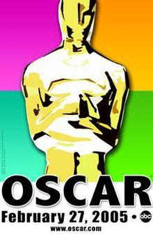 Cartel de de los Oscars 2005
