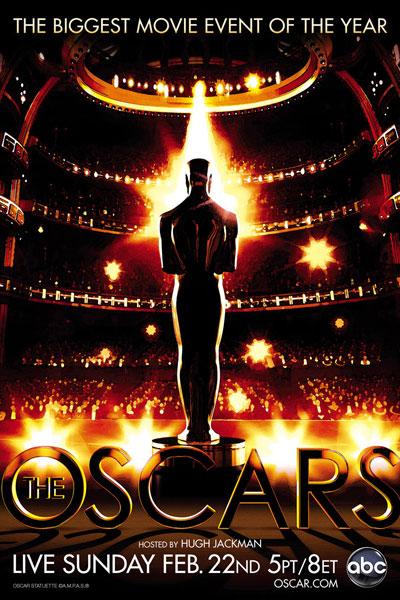 Cartel de de los Oscars 2009