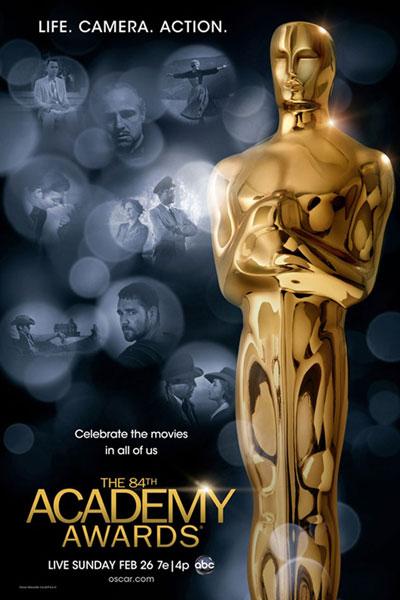Cartel de de los Oscars 2012