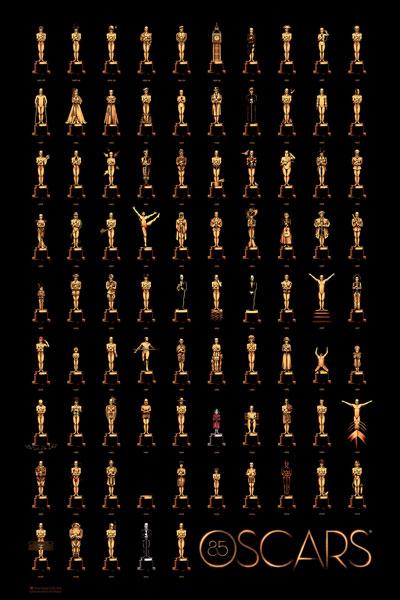Cartel de de los Oscars 2013
