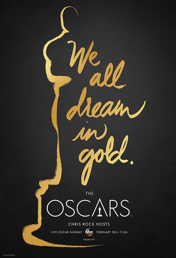 Cartel de de los Oscars 2016