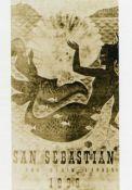 Cartel de del Festival de San Sebastián 1955