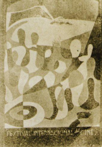 Cartel de del Festival de San Sebastián 1957