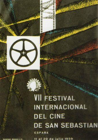 Cartel de del Festival de San Sebastián 1959