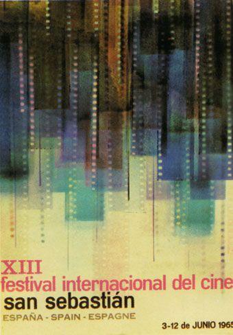 Cartel de del Festival de San Sebastián 1965