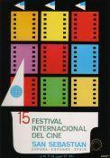 Cartel de del Festival de San Sebastián 1967