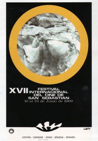 Cartel de del Festival de San Sebastián 1969