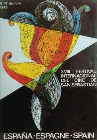 Cartel de del Festival de San Sebastián 1970