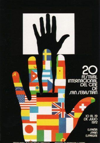 Cartel de del Festival de San Sebastián 1972