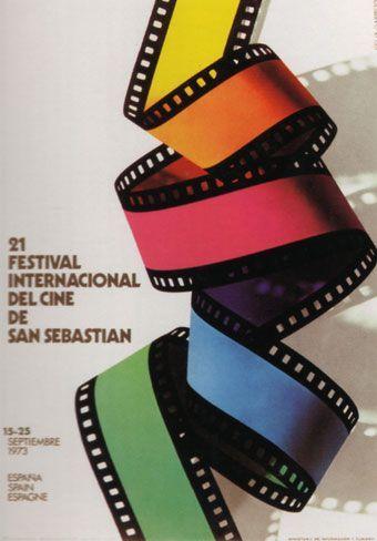 Cartel de del Festival de San Sebastián 1973