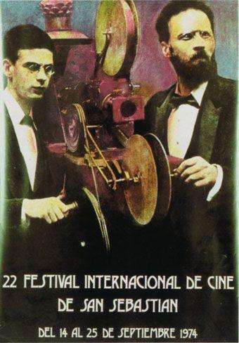 Cartel de del Festival de San Sebastián 1974