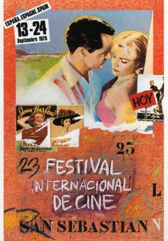 Cartel de del Festival de San Sebastián 1975