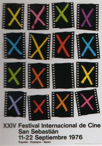 Cartel de del Festival de San Sebastián 1976