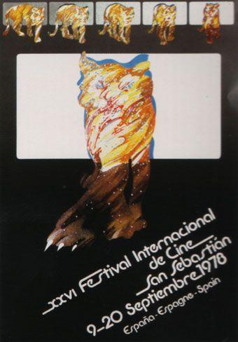 Cartel de del Festival de San Sebastián 1978