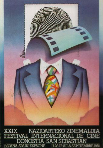 Cartel de del Festival de San Sebastián 1981