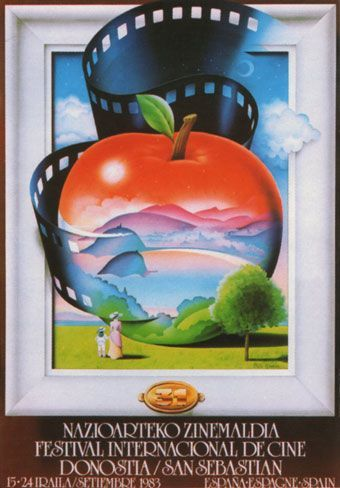 Cartel de del Festival de San Sebastián 1983