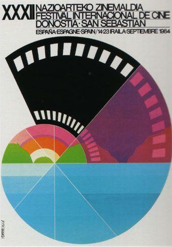 Cartel de del Festival de San Sebastián 1984