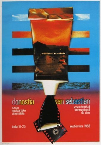 Cartel de del Festival de San Sebastián 1985