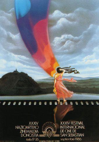 Cartel de del Festival de San Sebastián 1986