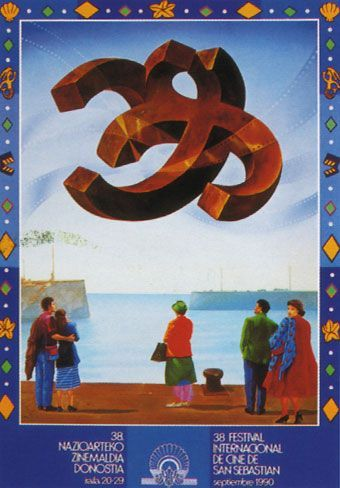 Cartel de del Festival de San Sebastián 1990