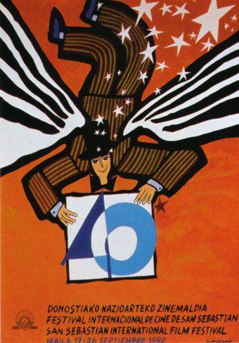 Cartel de del Festival de San Sebastián 1992