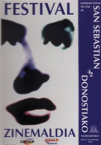 Cartel de del Festival de San Sebastián 1994